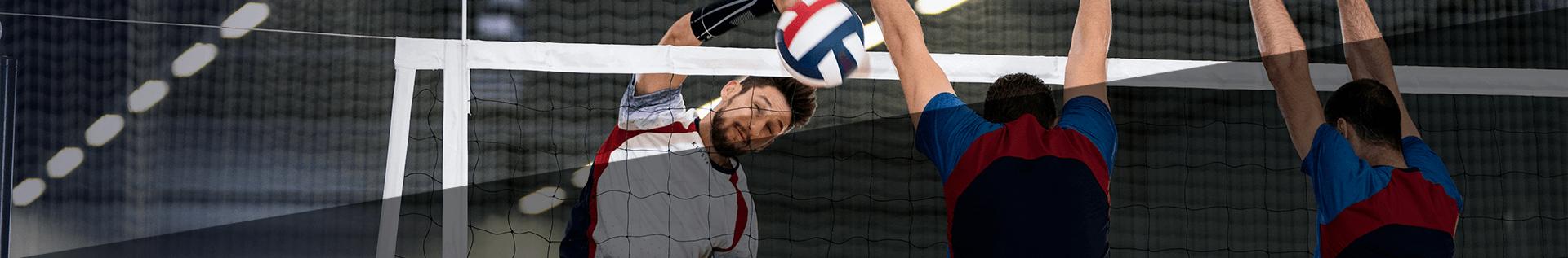 Волейбольні наколінники й налокітники